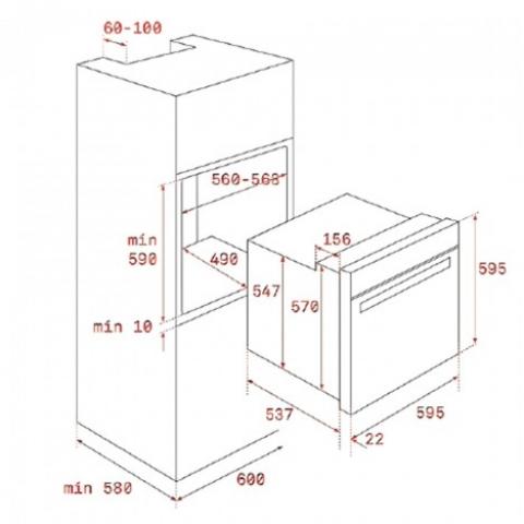 Электрический духовой шкаф Teka WISH Rustica HRB 6100 VN (111010008) ваниль