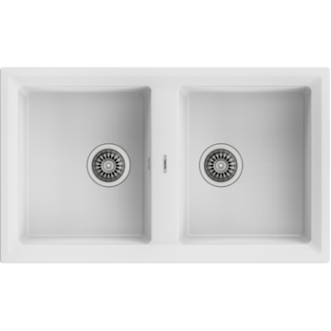 Кухонная мойка Teka STONE 90 B-TG 2B (115260000) серый металлик