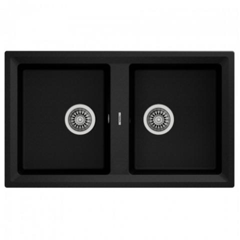 Кухонная мойка Teka STONE 90 B-TG 2B (115260003) черный