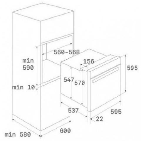 Электрический духовой шкаф Teka WISH Maestro HLB 860 (41560097) белый