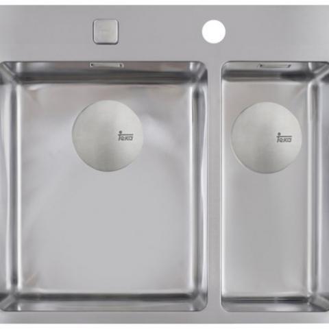 Кухонная мойка Teka Forlinea R15 2B 580 (12138022) полированная