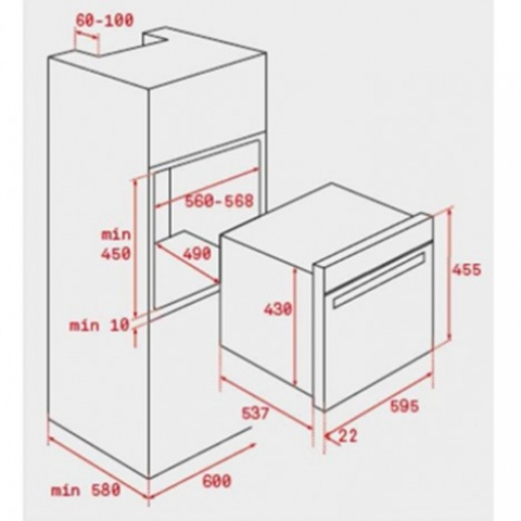 Электрический духовой шкаф Teka WISH Maestro HLC 844 C (40587602)